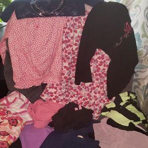 Girls Clothes lot size l/xl